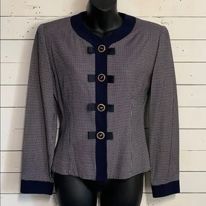 Vintage 80's 90's Tailored Button Detailed Jacket